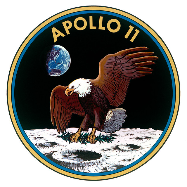 Image of Mission Patch for Apollo 11.