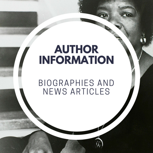 Biographies and Articles about an Author