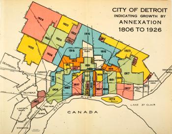 Historic Detroit website