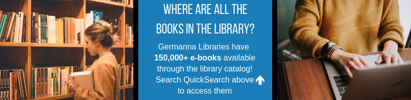 where are the library's books? use quicksearch