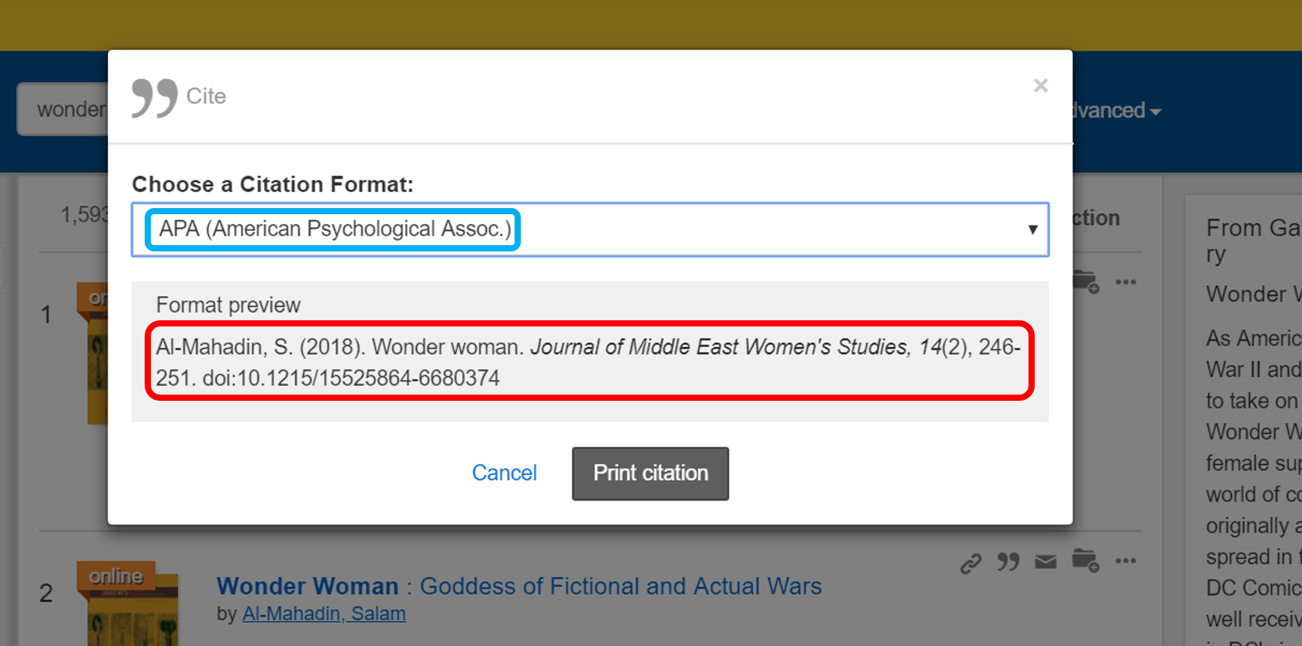 Select your citation style, then highlight, copy, and paste the citation.