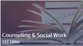 Counseling & Social Work 127 Titles