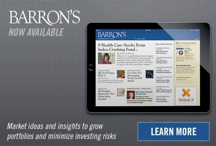 Barron's at the Horn Library