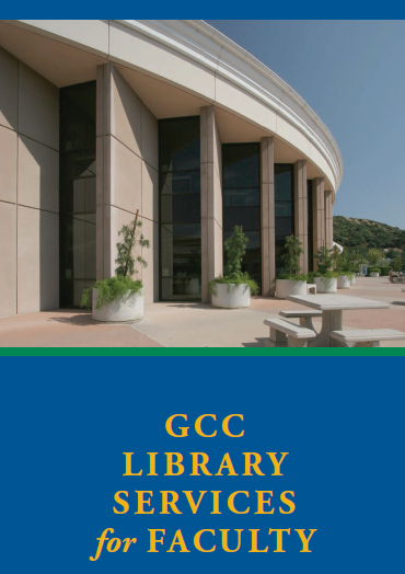 GCC Library Services for Faculty
