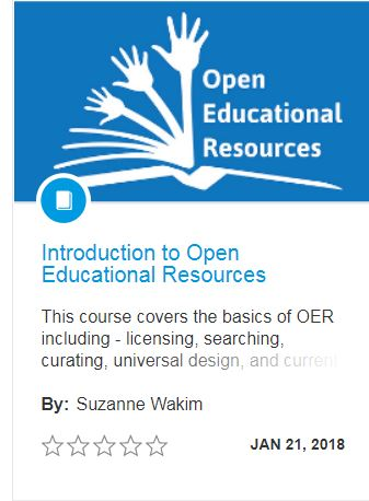 OER Canvas module from Suzanne Wakim
