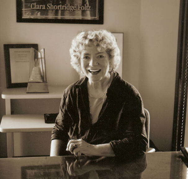 photo of Barbara Babcock in her office