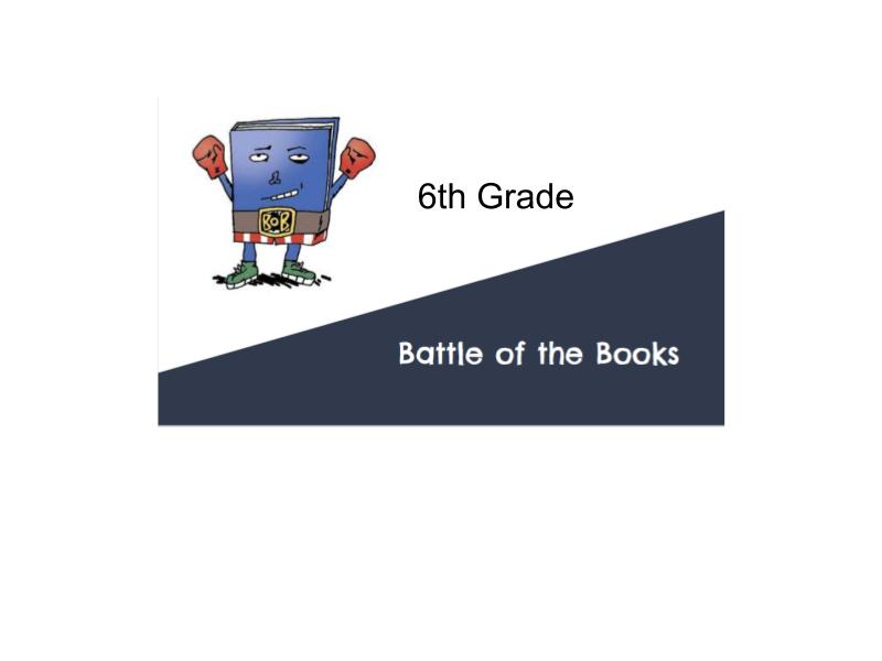 6th Grade Battle of the Books