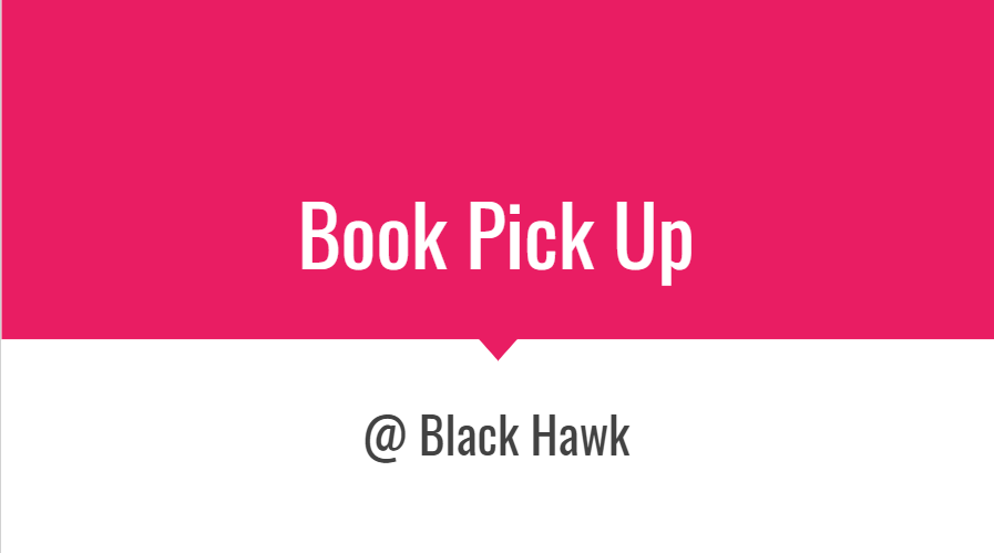 Book Pick Up directions