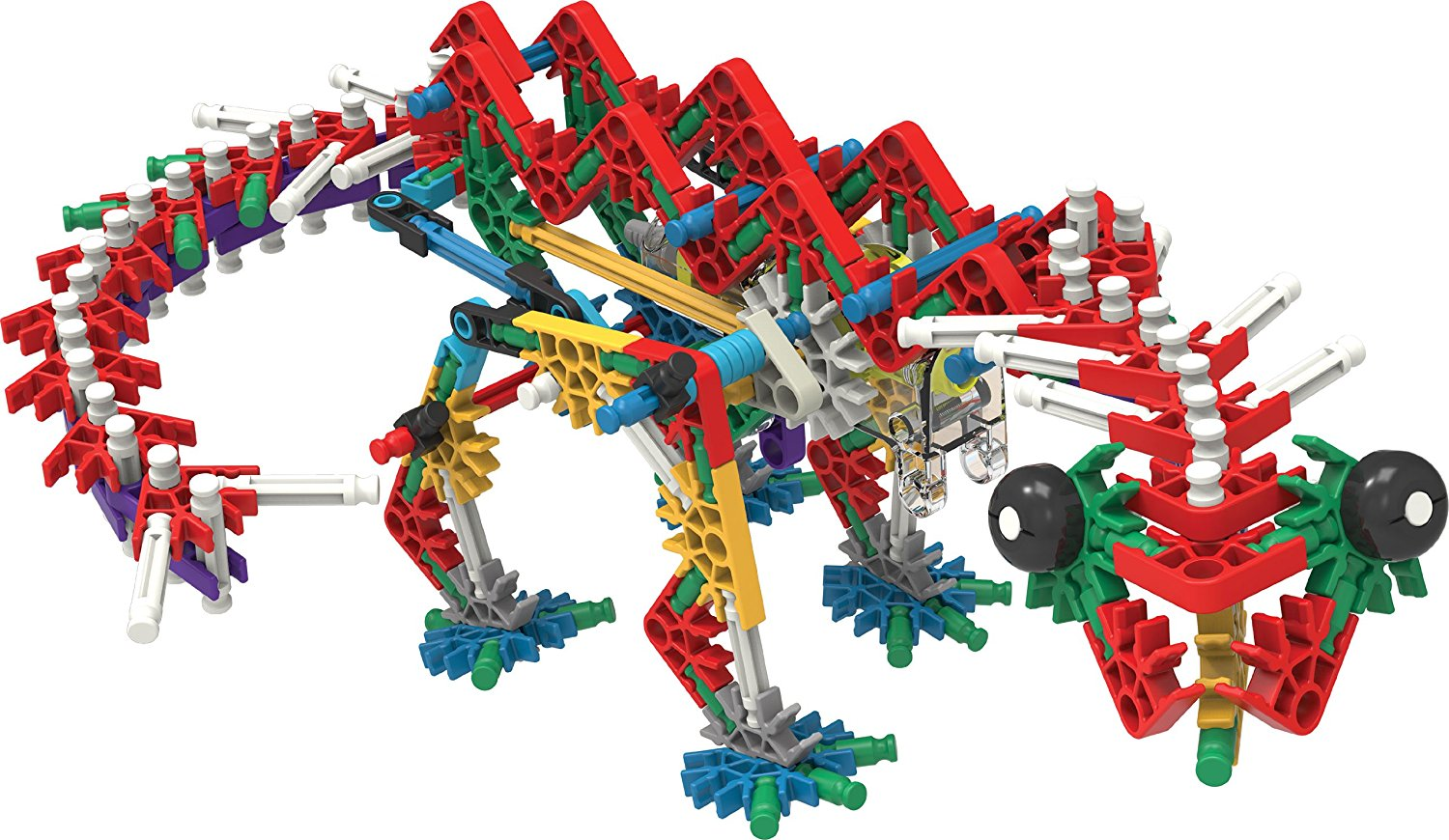 pic of a model made by K'Nex building pieces