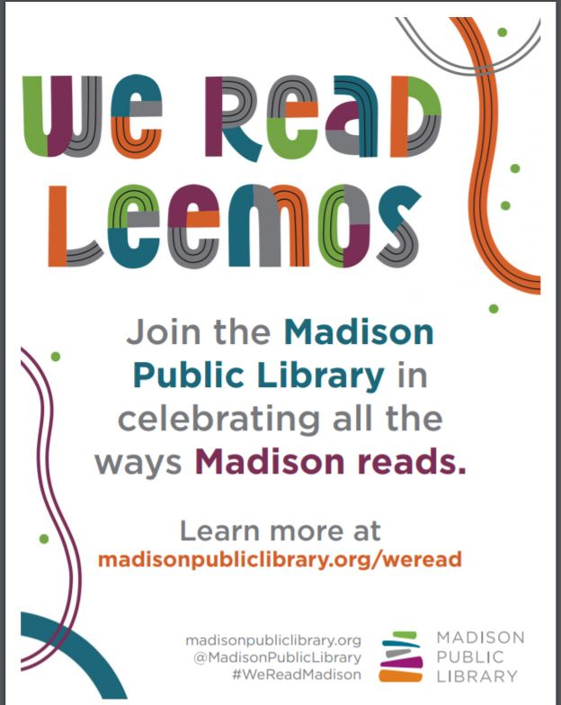 Madison Public LIbrary We Read program