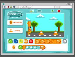 link to BrainPop Jr. computer programming