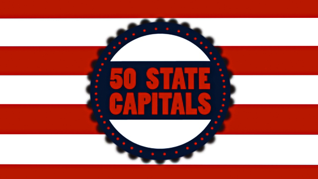 50 State Capitals icon