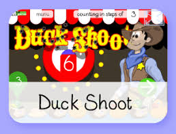 duck shoot math game