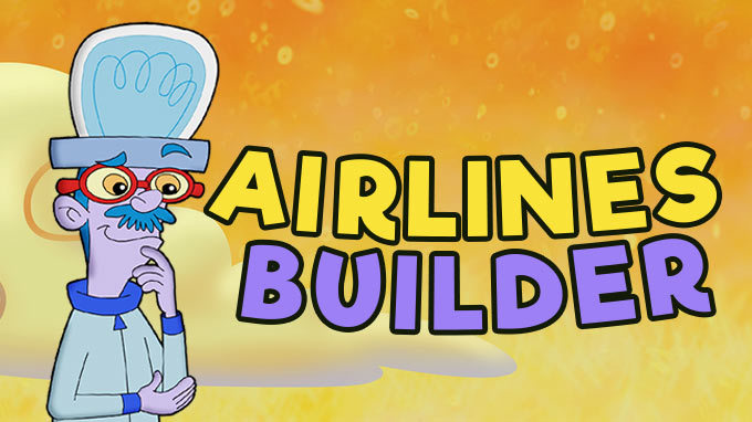 airlines builder game logo