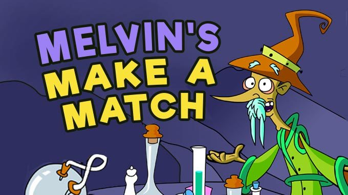 Melvin's Make A Match math game