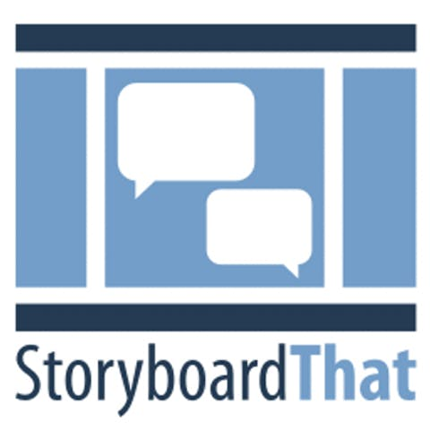 story board that website logo