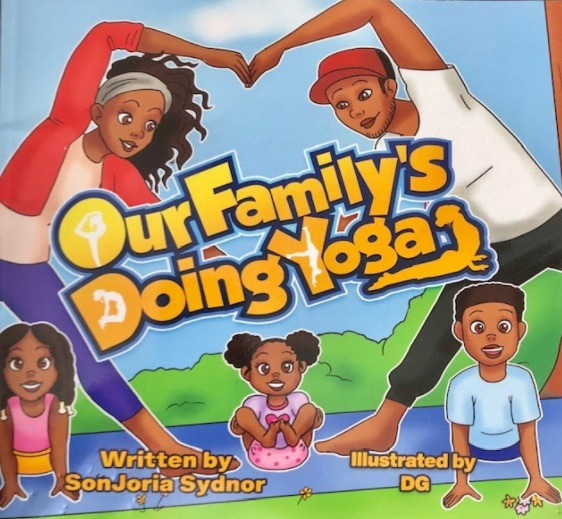 our family's doing yoga