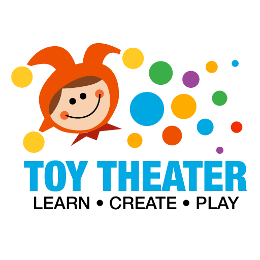 toy theater logo learn create play