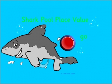 Shark Pool Place Value