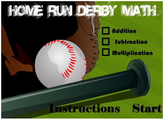 Home Run Derby Math logo