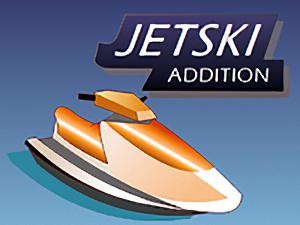 Jetski addition math game