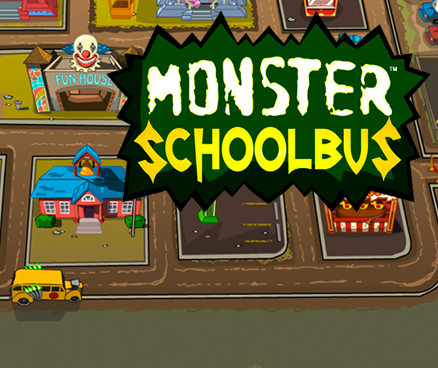 Monster School Bus game image