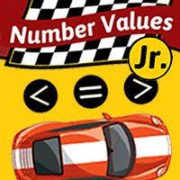 number values jr math game