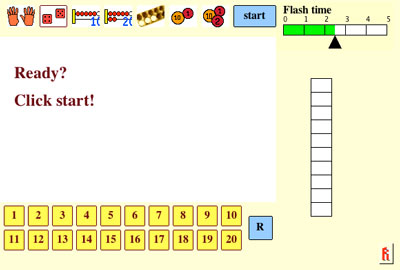 Speedy Pictures math game