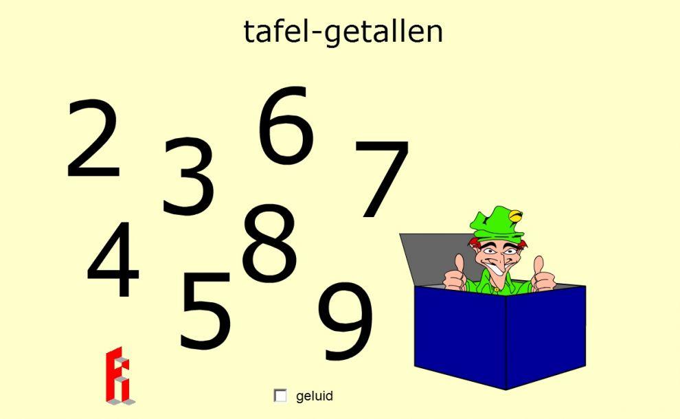 tafel-getallen game image