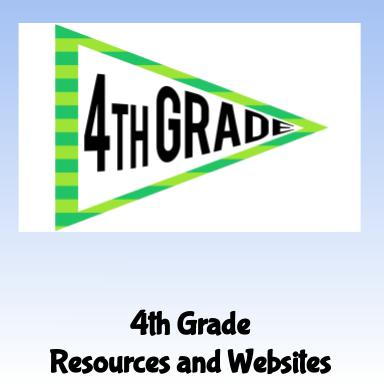 4th Grade Resources and Websites
