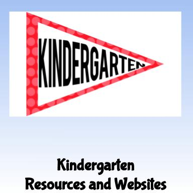 Kindergarten Resources and Websites
