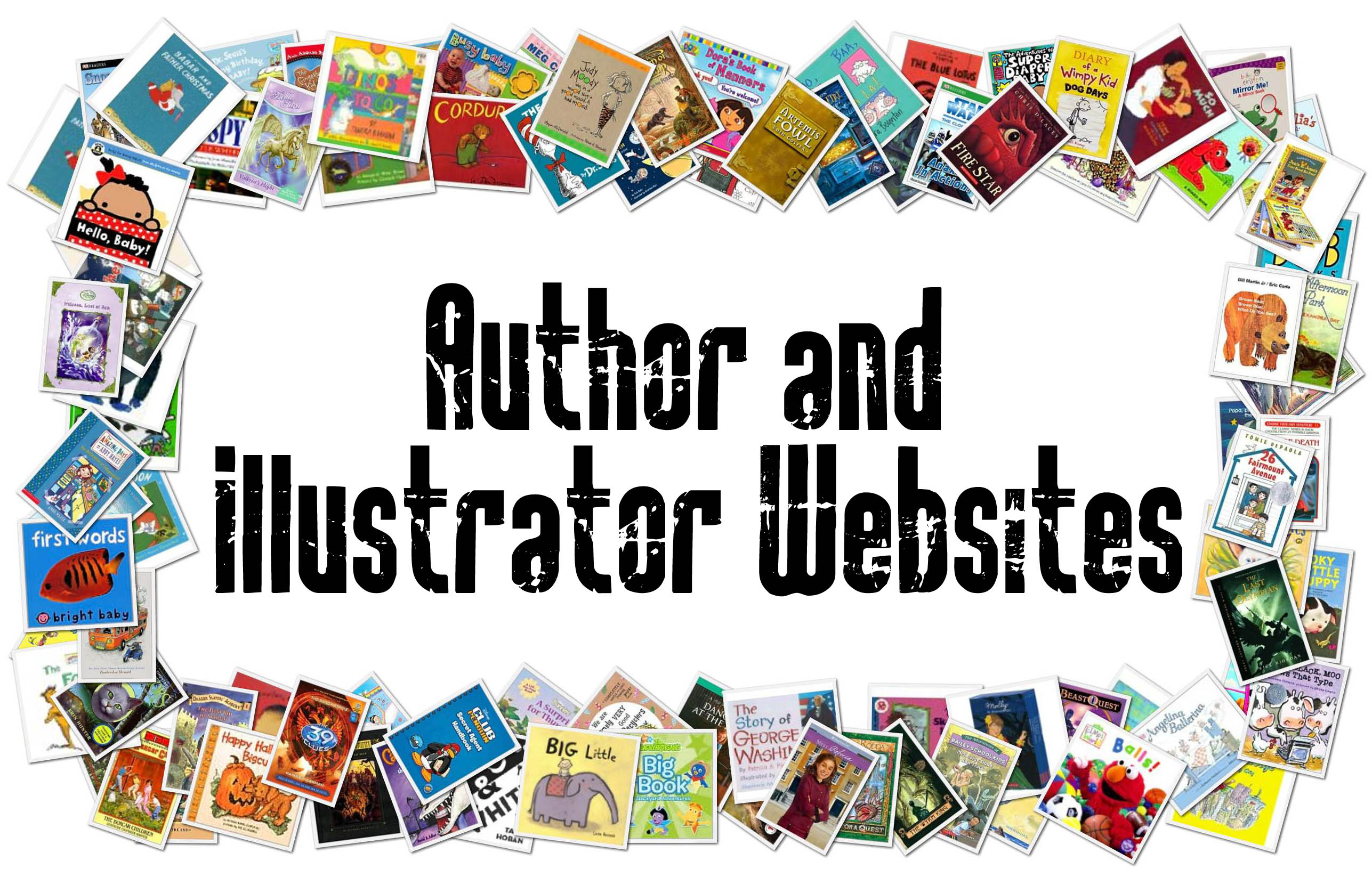 author and illustrator websites