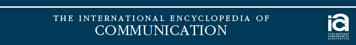 International Encyclopedia of Communication