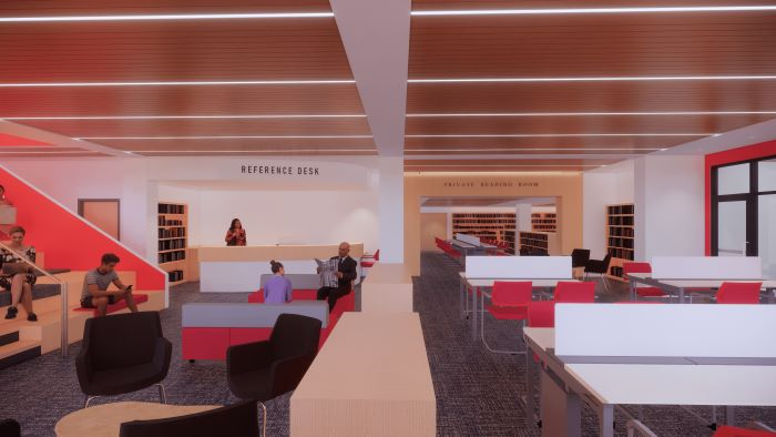 New Reference and Study Space