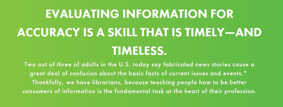 Libraries Transform: Evaluating Information
