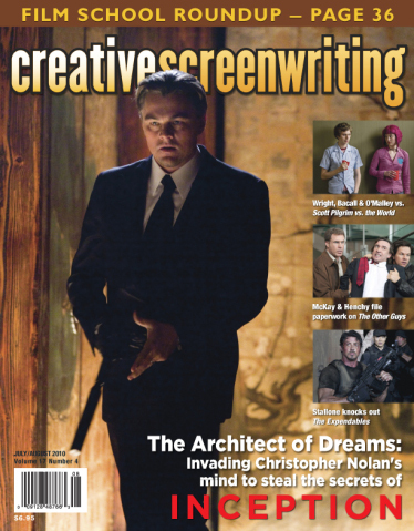 Cover Leonardo Dicaprio in Inception