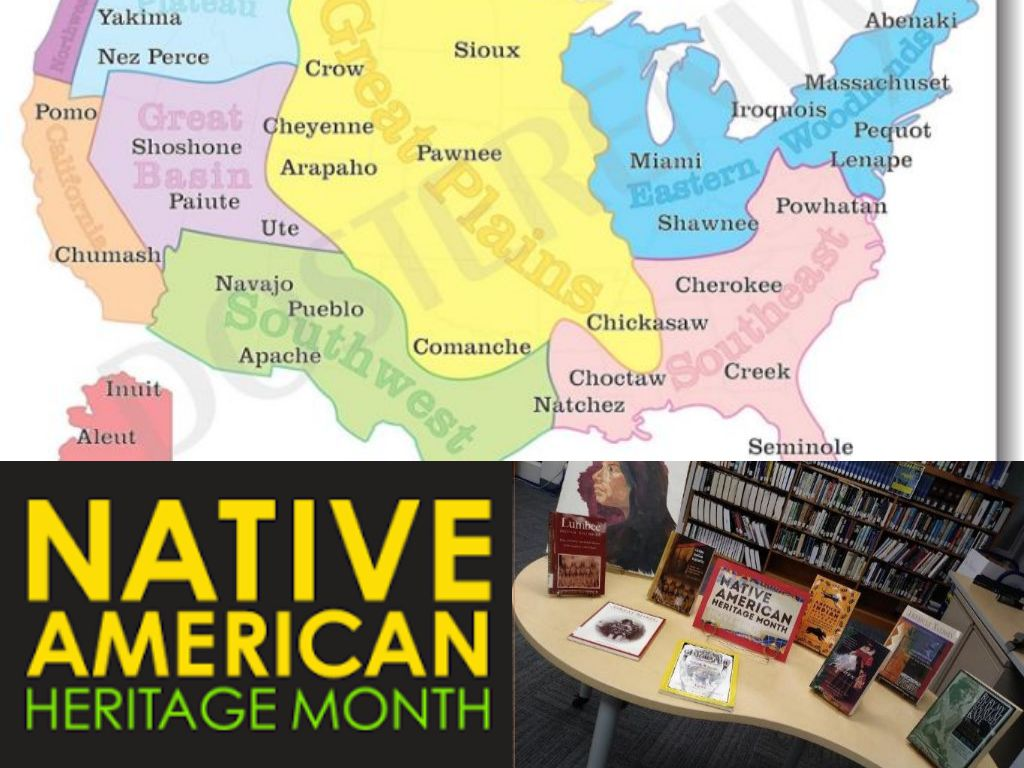 Native American Heritage Month Collage