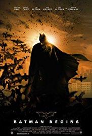 Cover for Batman Begins