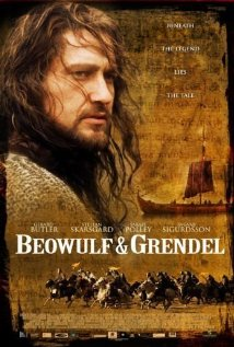 Cover for Beowulf & Grendel