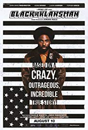 Cover for BlackKKlansman