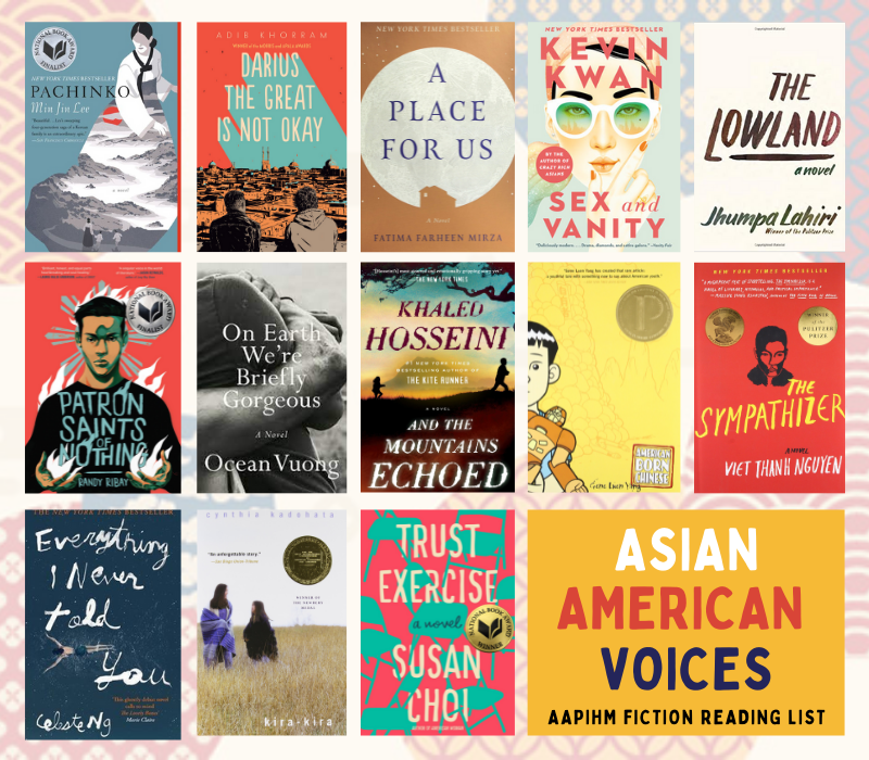 AAPI History Month 2021 Fiction Reading List