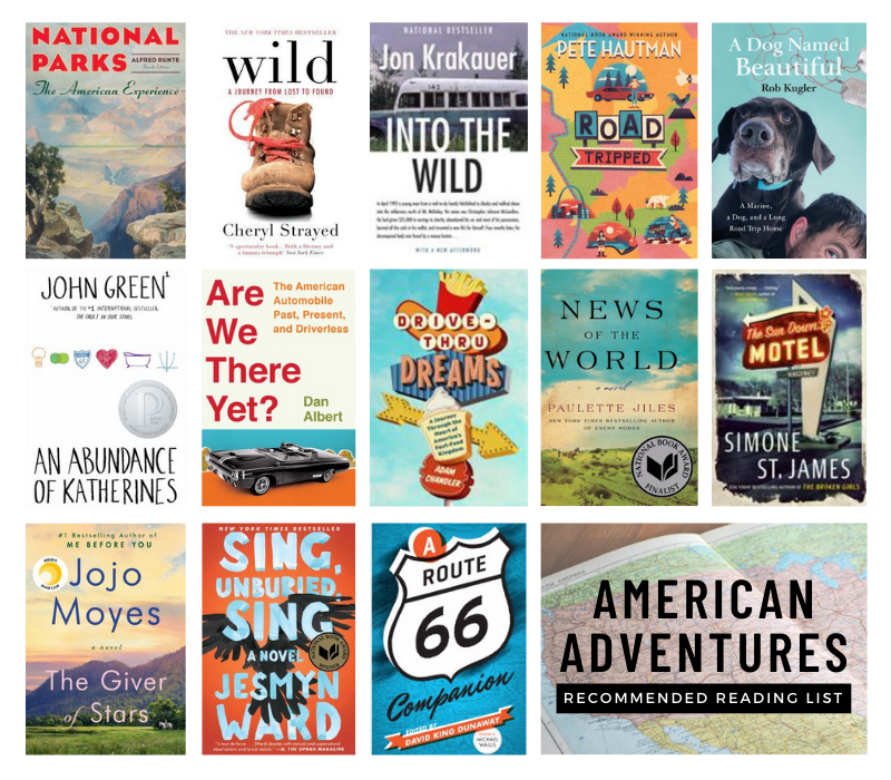 American Adventures Recommended Reading List.