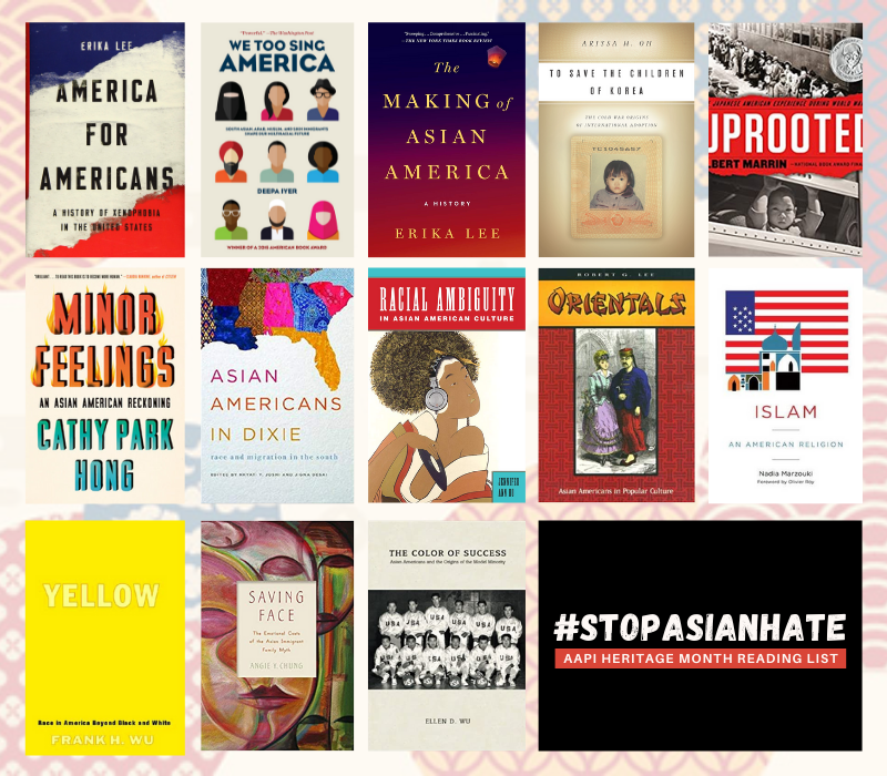 #StopAsianHate : AAPI Heritage Month Reading List