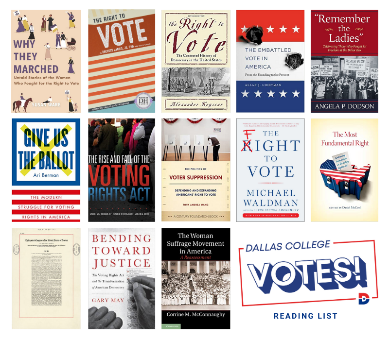 Dallas College Votes Reading List