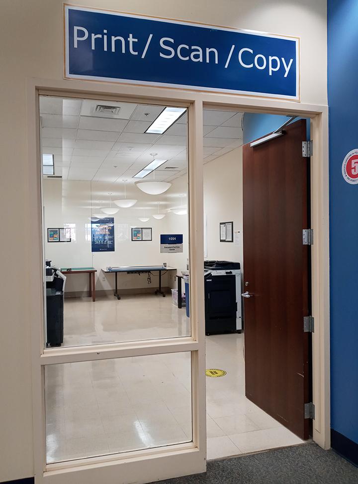 copy room door downtown