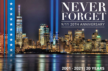 Never Forget - 9/11 20th Anniversary Poster