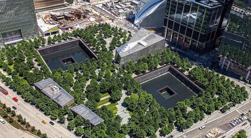 Ground Zero, 9/11 Memorial, New York City