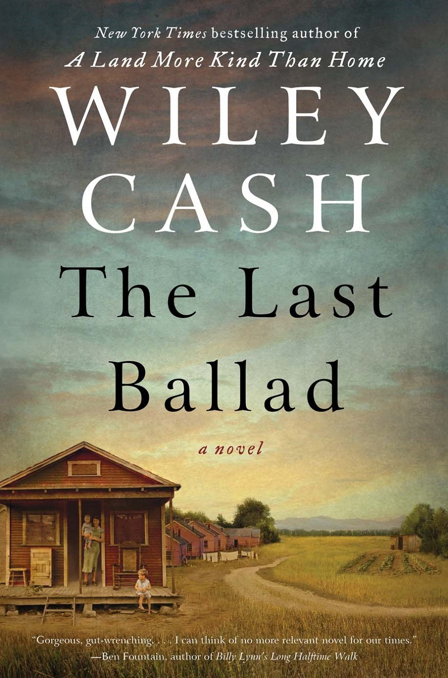 "Cover image of the novel ""The Last Ballad."""