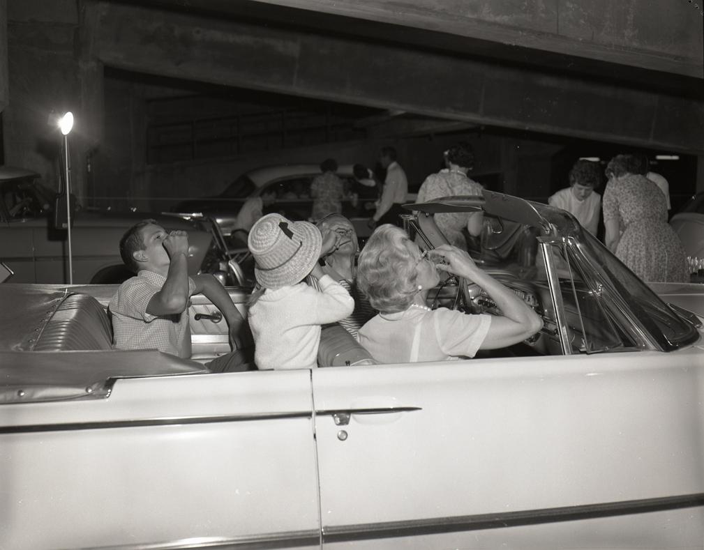 1962 Drive thru polio vaccination HFH