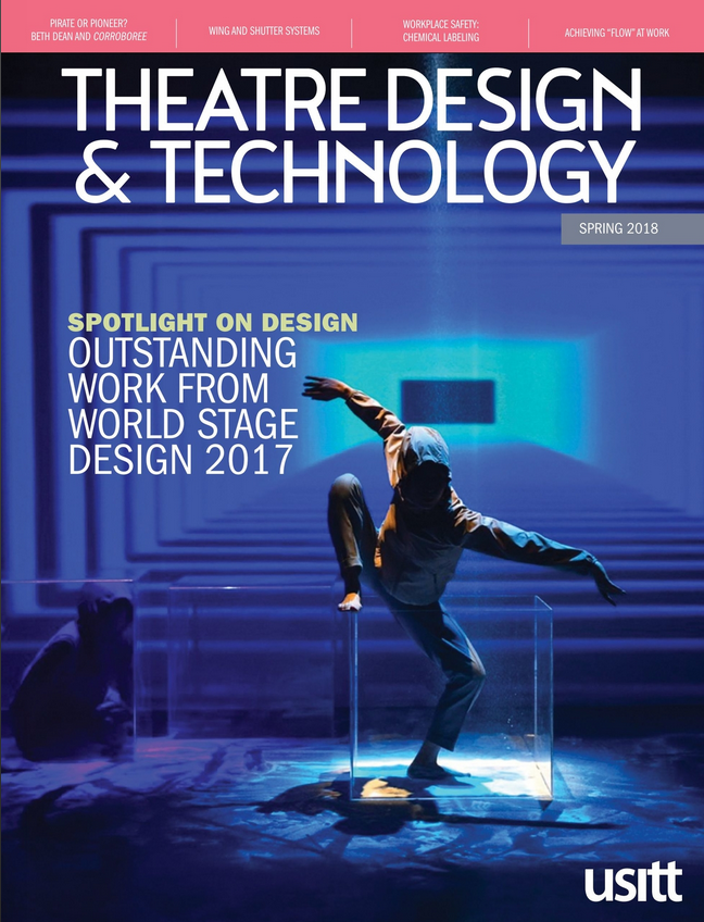 Theatre Design & Technology cover